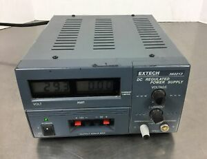 Extech 382213 Dc Regulated Power Supply 0 30vdc 500ma Max 4h