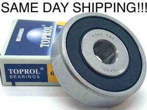 New Toprol Idler Pulley Bearing 6302rmx For Toyota lexus Same Day Shipping