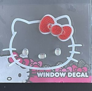 Chroma 001127 Cling Bling Red Bow hello Kitty Decal