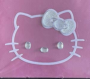 Chroma 001127 Cling Bling Pink hello Kitty Clear Bow Decal