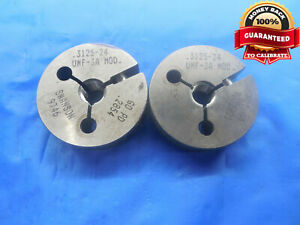 5 16 24 Unf 3a Modified Thread Ring Gages 3125 Go No Go P d s 2854 2821