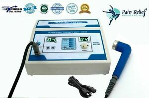 1mhz New Ultrasonic Ultrasound Therapy Machine Pain Relief Physiotherapy Unit Er