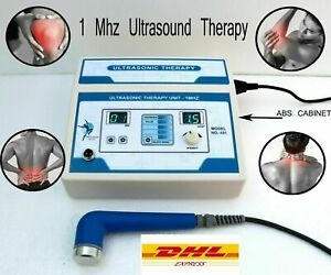 New Ultrasound Ultrasonic Therapy Machine 1mhz Pain Relief Therapy Zenex Unit Bj