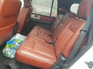 2008 Ford Expedition Second Middle Row Rear Seat Assembly King Ranch Black Trim