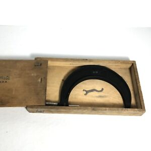 Brown And Sharpe No 67rs 4 5 Micrometer wood Box A14