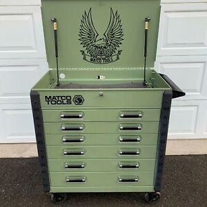 Matco Tool Box Cart Limited Edition Mint Condition Message To Pick Up