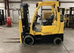 Hyster S50fth Forklift 5000 Lbs Capp