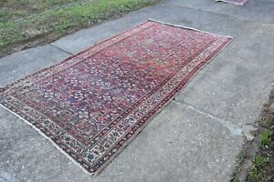 Antique Malayer Rug Nice Colors 5x9