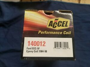 New Accel Performance Ignition Coil ford 140012 eec iv mustang 1984 1998