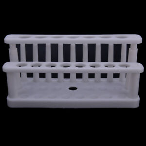 15holes Plastic Test Tube Rack Testing Tubes Holder Storage Stand Lab Supplyey