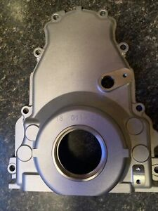 New Gm Oem Gen Iii Gen Iv Ls2 5 3 6 0 Timing Cover With Sensor Hole 12600326