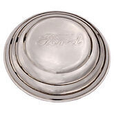 1941 Ford Hubcaps Passenger Car 1941 1942 Pickup Stainless Steel Set Of 4