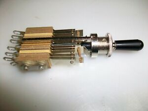 Switchcraft Toggle Switch 3 Position 4pdt Off 4pdt