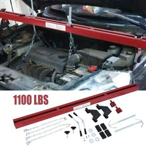 1100 Lbs Capacity Engine Load Leveler Support Bar Transmission With Dual Hook