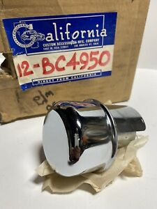 California Custom Vintage Chrome Ford Flathead Oil Filler Cap Breather Scta Nos