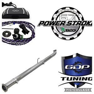 Gdp Ez Lynk 2008 2010 Ford Powerstroke 6 4l Dpf Def Egr Pipe Sotf Upgrade Kit