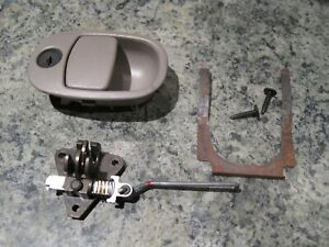 Gmc Envoy Glove Box Latch 2002 03 04 Glovebox Handle Without Key Light Gray
