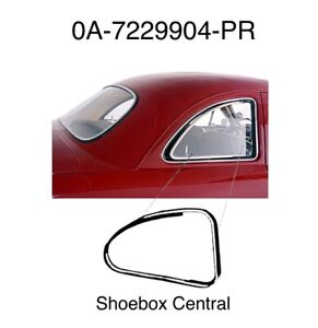 1949 1950 1951 Ford Club Coupe Quarter Window Seals Flip Open Style