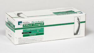 25 pairs Ihc Dermassist Elbow Length Pf Latex Surgical Gloves Size 8 5 141850
