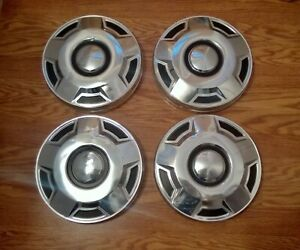 4 Ford F150 Truck Dog Dish Hubcaps Hub Caps Center Caps 10 5 Inch Poverty Center