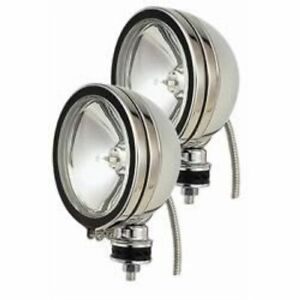 Hella H71020801 Optilux 1900 Series Round Auxiliary Light Clear Lens New