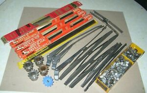 Lot Of Vintage Windshield Wiper Arms Blades And Hardware