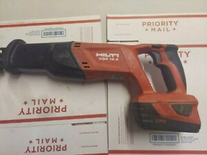 Hilti Reciprocating Saw 18v Wsr18 a 22v 22 6v Works Perfectly W Battery
