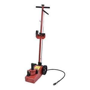 22 Ton Air Hydraulic Floor Jack Truck Power Lift Auto Truck Repair W Saddle Us