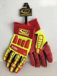 Ringers Gloves R 269 Roughneck Cut 5 Tefloc Impact Glove Xxl 2xl 12 New