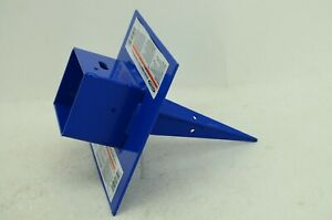 Werner spj pa 4 Pole Anchor Hold 3 3 5 Inches Wood Aluminum Pole Blue New