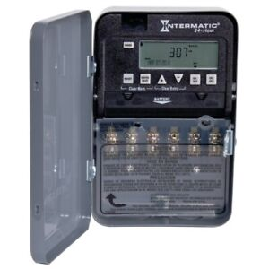 Intermatic Et1100 Series Et1125c Electronic Timer 30 A 120 277 V Gray