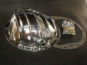 Rear End Differential Polished Aluminum Cover Gm Chevy 12 Bolt Car