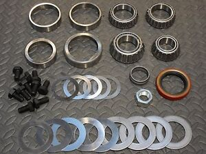 Ratech 366k Gm 8 5 Rear End Ring Pinion Bearing Installation Kit