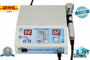 New Prof Us Ultrasound Therapy 1 mhz Physical Pain Relief Therapy Great Machine