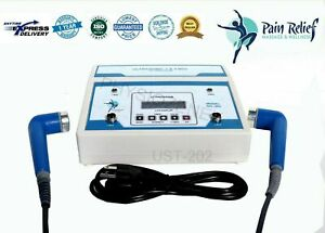 Professional Ultrasound 1mhz 3mhz Therapy Ultrasonic Pain Relief Pulse Lcd us