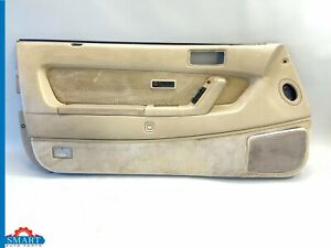 1989 Acura Legend Coupe Left Driver Door Panel Tan With Cloth Oem