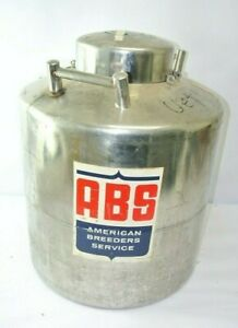 Abs Nd 1 Liquid Nitrogen Storage Tank Dewar Approximately 30 Liters