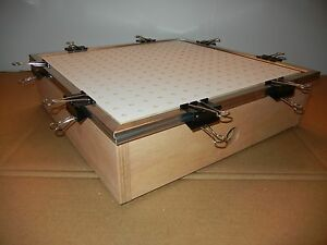 18 X 18 Vacuum Forming former Thermoform Plastic Forming Box machine table