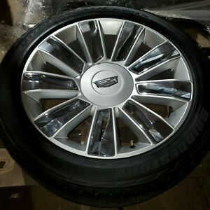 Cadillac Escalade Platinum 22 Wheels With Tires Like New 2015 16 17 18 19 20