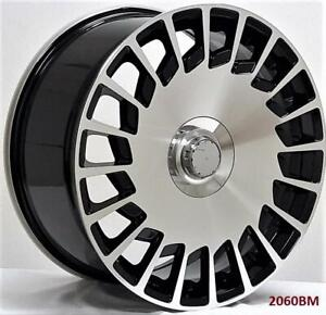 20 Wheels For Mercedes S class Coupe S550 S600 S63 S65 staggered 20x8 5 9 5