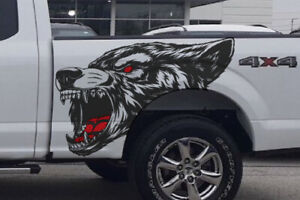 Fits Mustang Ranger F 150 Truck Car Graphic Vehicle Decal Side Coyote Sticker
