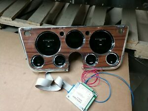 1967 Thru 1972 Chevy Gmc Pickup Dakota Digital Dash Gm