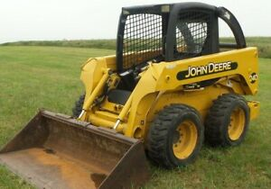 John Deere 240 250 Skid Steer Technical Manual Tm1747 Pdf Oem