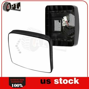 Small Mirrors Plate Heated Signal Truck For 02 18 International Prostar lonestar