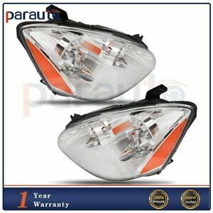 Headlights Assembly For Nissan Altima 2002 2004 Amber Replacement Headlamps Pair