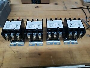 3 Pole 50 Amp Relay Contactor 120 Volt Coil Good Used