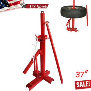 Manual Portable Hand Tire Changer Bead Breaker Tool Mounting Home Shop Auto Usa