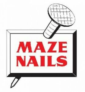 Maze Nails H527a 5 Pole Barn Ring Shank Nails 5 pound 30d 4 5 inch