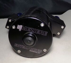 Meziere Remote Water Pump With Blue Aluminum Inlet Outlet Barbs New