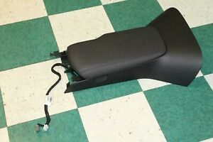 12 13 C6 Black Front Floor Center Console Armrest Assembly W Usb Factory Oem
